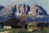 Alfons Walde, Bauernhof am Wilden Kaiser bei Kitzbühel