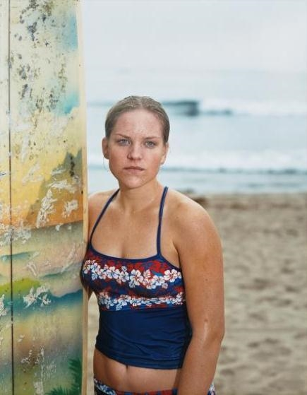 Catherine Opie Larkie From The Surfer Portraits