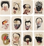 Wangechi Mutu, 12 Works: Histology of the Different Classes of Uterine Tumors
