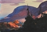 John Whorf, Mountain Sunset