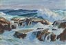 John Whorf, Marine #2/ Rocks and Surf