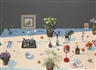 Paul Wonner, STILL LIFE WITH INDIAN MINIATURE