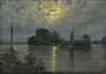 Carl Gustav Carus, Full Moon near Pillnitz