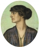 Franz von Stuck, Portrait of a Lady in Profile