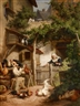 Gustav Konrad Sus, Quarrel in the Chicken Yard