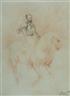 Jean-Baptiste Carpeaux, Portrait équestre de Charles Quint Sanguine