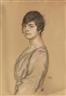 Franz von Stuck, Porträt einer jungen Frau