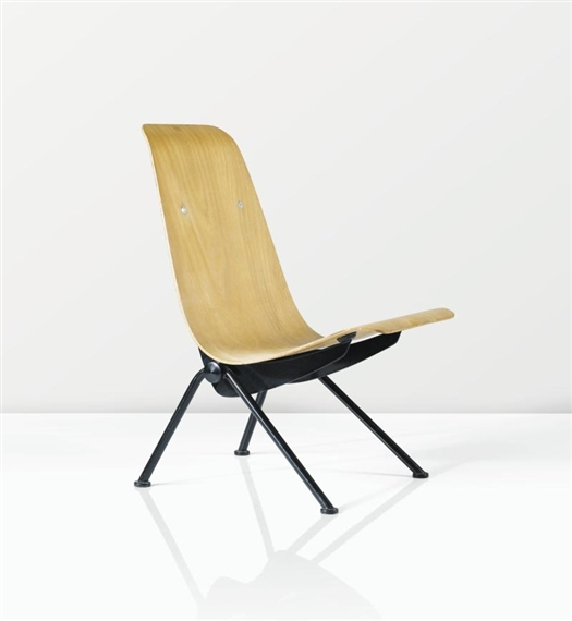 Prouv jean chaise antony mutualart - Jean prouve chaise ...