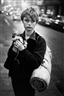 Bruce Davidson, GIRL HOLDING KITTEN, LONDON