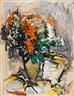 Anton Räderscheidt, Floral Still Life