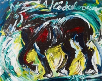 Horse By Antonius Höckelmann ,1969
