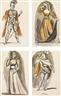 Balthus, 10 WORKS: ÉTUDE POUR LES COSTUMES DU LES CENCI