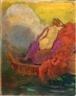 Odilon Redon, FEMME A LA BARQUE