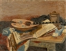 Roger Bissière, Nature morte avec mandoline