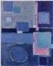 Patrick Heron, BLUE PAINTING (SQUARES AND DISC) : AUGUST 1958 - FEBRUARY 1959