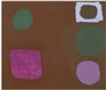 Patrick Heron, FIVE SHAPES IN BROWN : 3 MARCH 1962