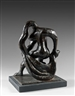 Jacques Lipchitz, 2 Works: Study for the Dancer Braids; Preparatory Drawing