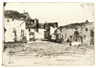James McNeill Whistler, Liverdun from Twelve Etchings from Nature