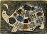 Betye Saar, Turtles Lament