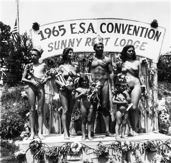 Photos retro nudist Category:Nude standing