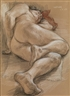 Paul Cadmus, Sleeping Male Nude (NM 254)