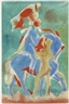 Carl Robert Holty, 2 works: Horse and Rider ; Minotaur