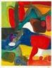 Maurice Estève, Rouge et bleu