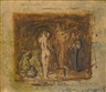 Thomas Eakins, Sketch for rush carving