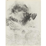James Ensor, Tete de Femme and Sketch of Two Figures : a double-sided work