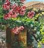 Peder Severin Krøyer, A flowering oleander tree. Granada