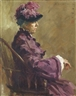 David Wu Ject-Key, Woman in Purple Dress