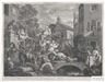 William Hogarth, 4 Works: An Election Entertainment; Canvassing for Votes; The Polling; Charing the Members