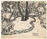 Max Pechstein, Im Garten der Villa Borghese in Rom