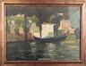John Singer Sargent, Venetian Gondola Scene