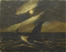 Albert Pinkham Ryder, Sailboats in the Moonlight