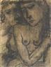 Paul Delvaux, DEUX FIGURES
