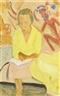 Erich Heckel, LESENDE(READING WOMAN)