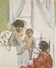 Henri Lebasque, MÈRE ET ENFANT