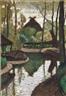 Otto Modersohn, Frühling an der Wümme