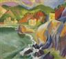 Max Pechstein, Monterosso al mare
