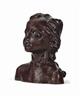 Camille Claudel, La petite châtelaine, version à la natte courbe