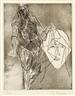 Germaine Richier, Femme debout et visage