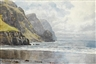 William Trost Richards, The Great Kell Strand, Achill Island, Ireland