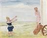 James Ensor, L' Appel de la sirène (La Baignade)