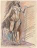 Max Gubler, Standing female nude
