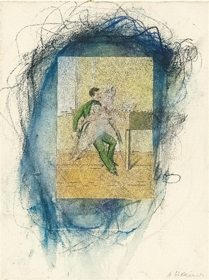 40 erotic watercolors fendi