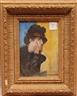 Louis van der Pol, Pensive woman