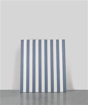 buren daniel untitled peinture acrylique blanche sur. Black Bedroom Furniture Sets. Home Design Ideas