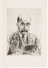 Max Liebermann, Selbstbildnis des Siebzigjährigen