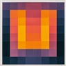 Karl Gerstner, Carro 64 - orange/violett/blau (orange/violet/blue)